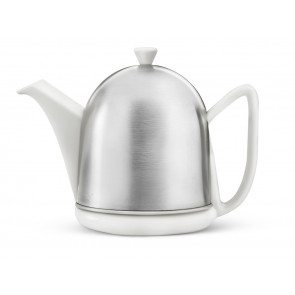 Teapot Cosy Manto 1.0L, spring white, satin finish