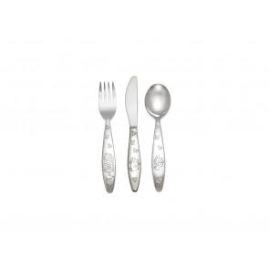 Children's cutlery 3pcs Emergency veh. s/s