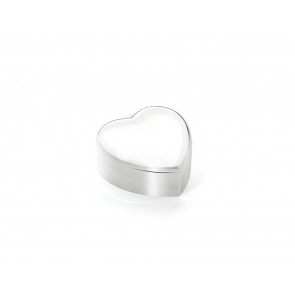 Jewellery music box Heart silver colour