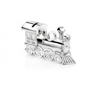 Money Box Locomotive 15,5x5,5x8cm sp./lacq.