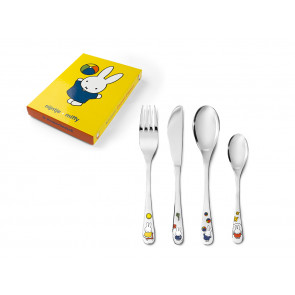 Children's cutlery 4-pcs miffy plays
