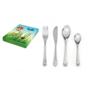 Children's cutlery 4pcs Nature friends s/s