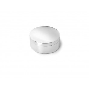Box plain round 42mm sp./lacq.
