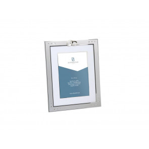Photo frame Double Rings 13x18cm sp./lacq.