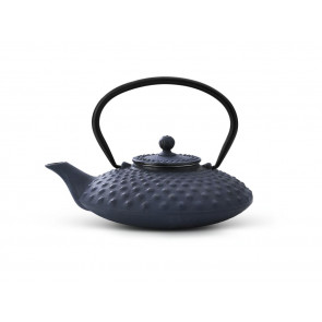 Teapot Xilin 0.8L cast iron blue
