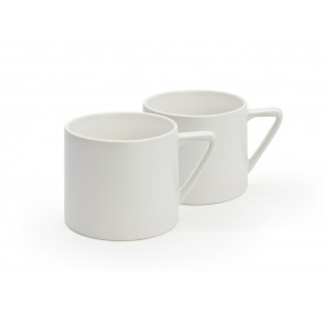 Mugs Lund, white, set of 2