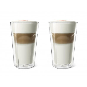 Double Walled Glass Latte Macchiato 280ml, set of 2