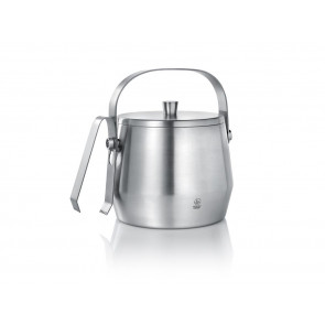 Ice bucket 2,5L with lid and tongs