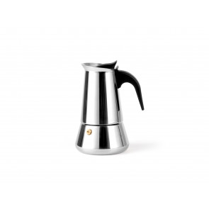 Espresso maker Trevi for 4 cups, stainless steel