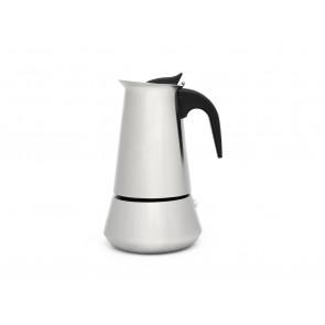 Espresso maker Trevi 6 cups matt s/s