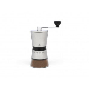 Coffee mill Bologna s/s + glass