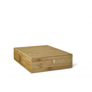 Tea box 9-compartments Bamboo